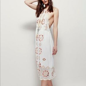 🌸Free People Wild Worlds Embroidered Dress👑